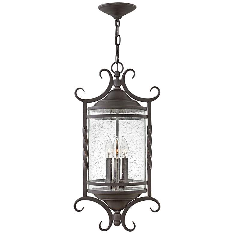"Hinkley Casa 23 1/4"" High Olde Black Outdoor"