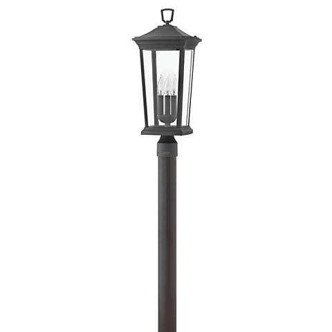 "Hinkley Bromley 22 3/4"" High Museum Black Outdoor Post Light"