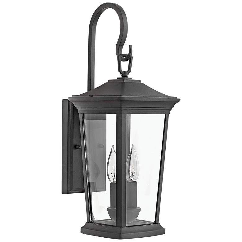 """Hinkley Bromley 20"""" High Museum Black Outdoor Wall Light"""