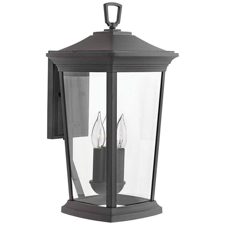 """Hinkley Bromley 19 1/4"""" High Museum Black Outdoor Wall Light"""