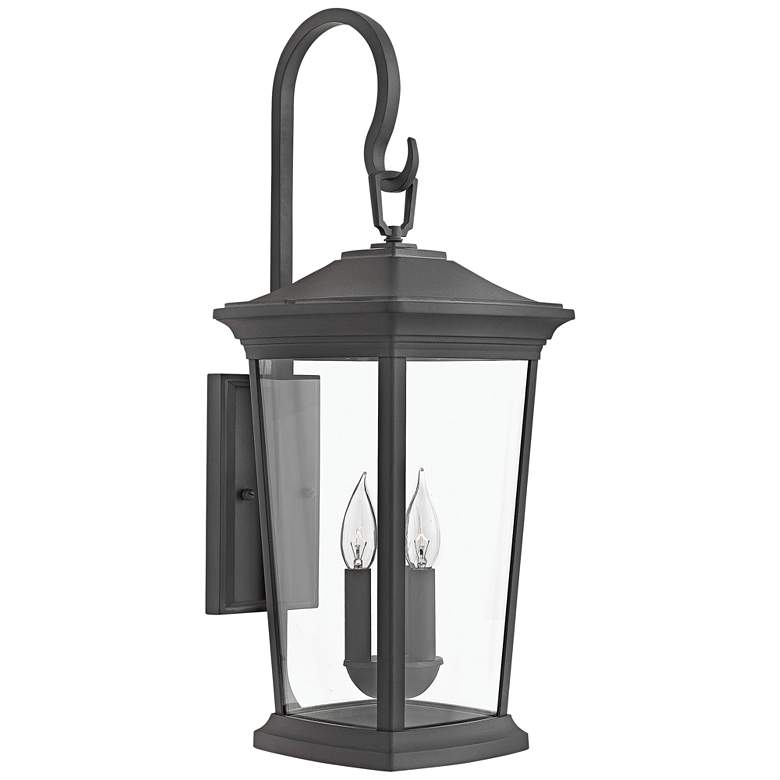 """Hinkley Bromley 24 3/4"""" High Museum Black Outdoor Wall Light"""