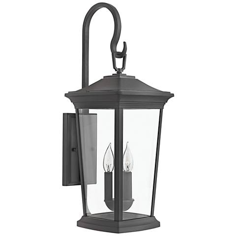 "Hinkley Bromley 24 3/4"" High Museum Black Outdoor Wall Light"