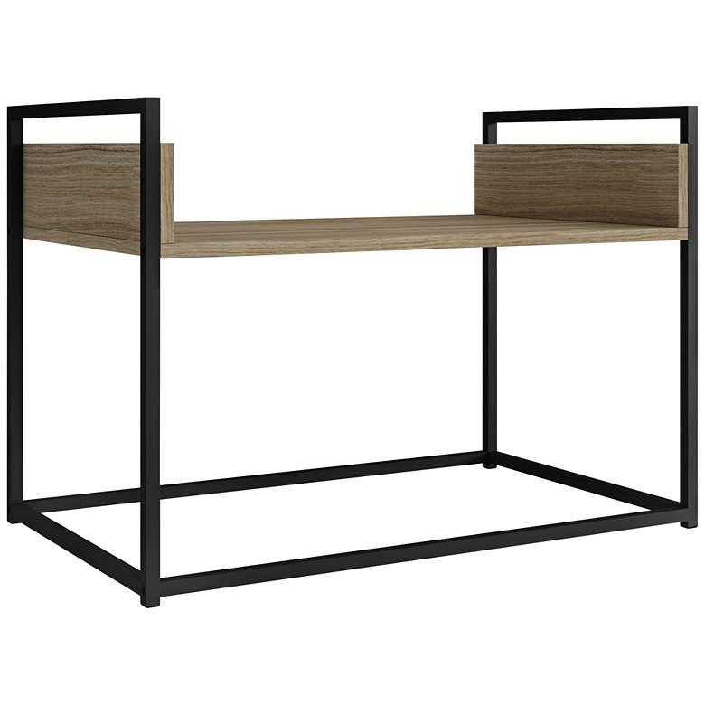 """Ellis 27 3/4"""" Wide Dark Oak Modern Coffee Table"""