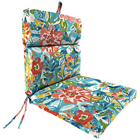 Sunriver Sky French Edge Outdoor Chair Cushion 38f64 Lamps Plus
