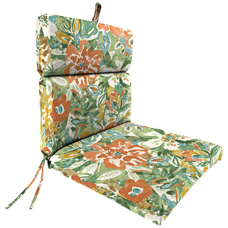 Sunriver Mist French Edge Outdoor Chair Cushion