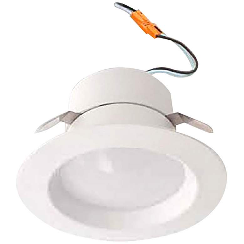 "60W Replacement 4"" Smooth White 10W LED JA8"