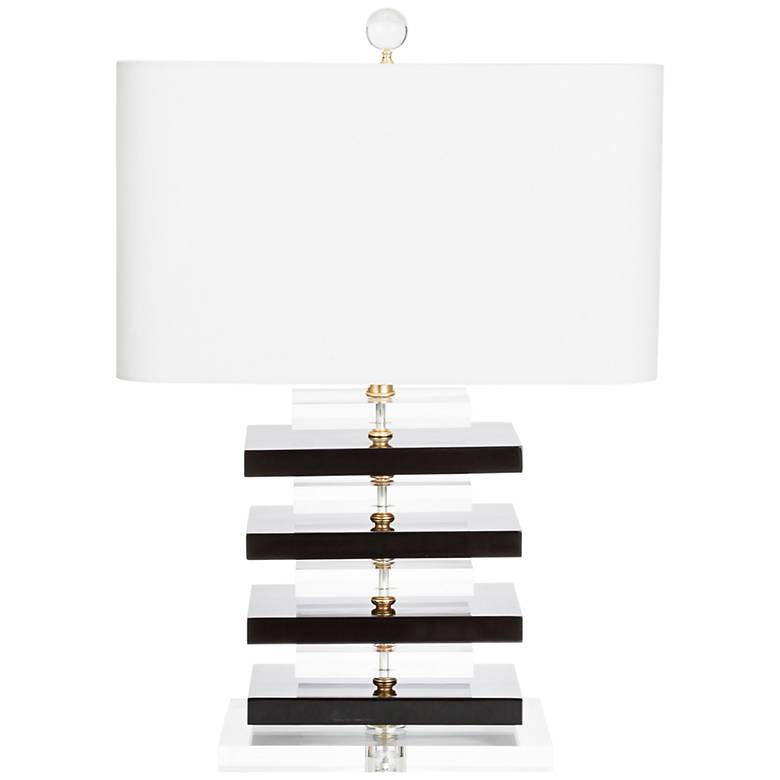 Couture Devonshire High-Gloss Black Table Lamp