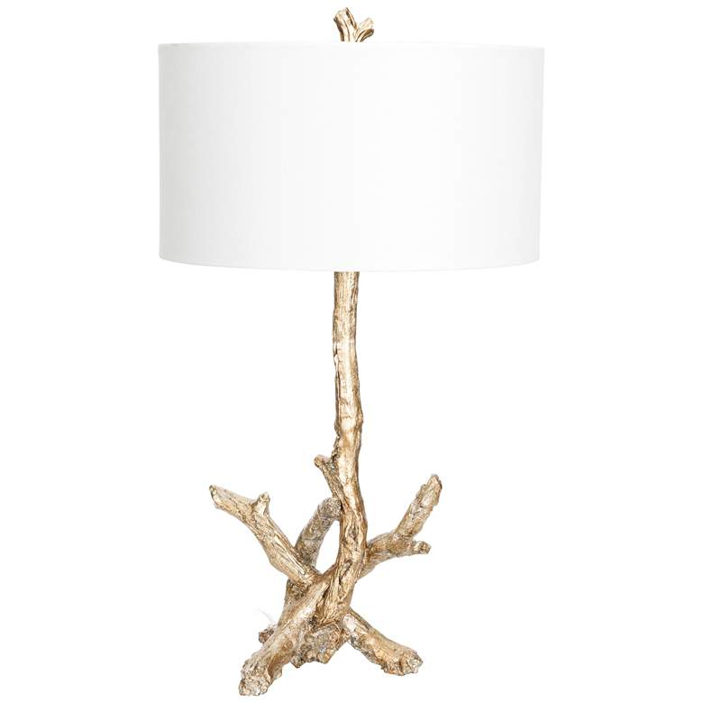 Couture Del Rio Opulent Silver Driftwood Table Lamp