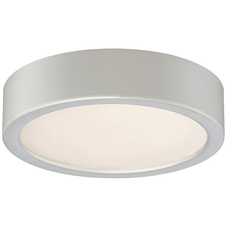 """George Kovacs Puzo 6"""" Wide Silver LED Ceiling"""