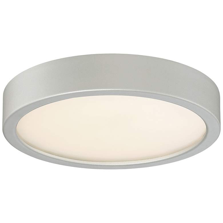 """George Kovacs Puzo 8"""" Wide Silver LED Ceiling Light"""