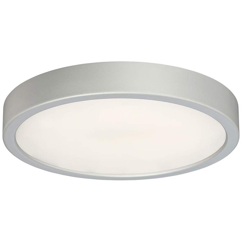 """George Kovacs Puzo 10"""" Wide Silver LED Ceiling Light"""