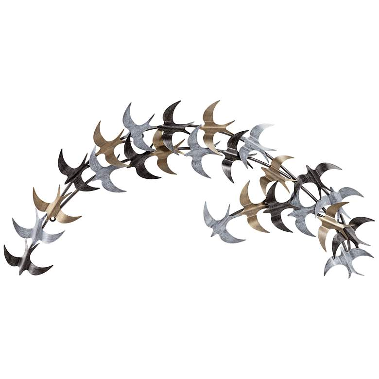 The Birds Metal Wall Art