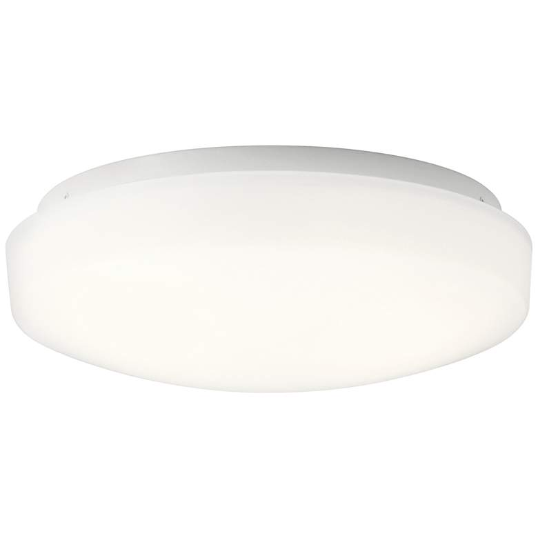 """Kichler Ceiling Space 10 3/4"""" Wide White LED Ceiling Light"""