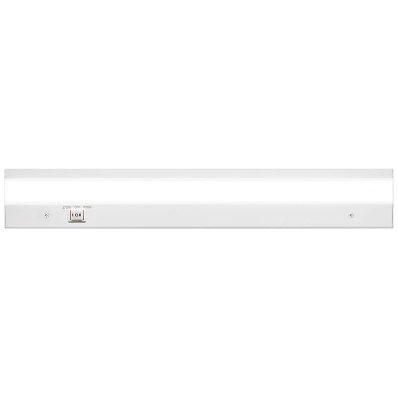 """WAC DUO 18"""" Wide White LED Under Cabinet Light"""