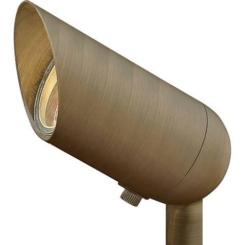 "Hardy Island 3 1/4""H Matte Bronze 7.5W 3000K LED Spotlight"