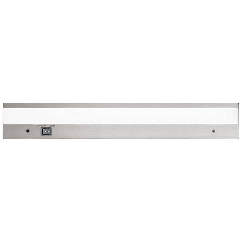 "WAC DUO 18"" Wide Brushed Aluminum LED Under Cabinet Light"