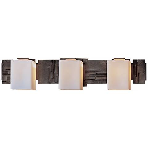 "Impressions Opal Glass 27 1/2"" Wide Bathroom Light"