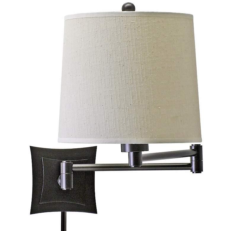 Lovana Bronze Finish Plug-In Swing Arm Wall Lamp