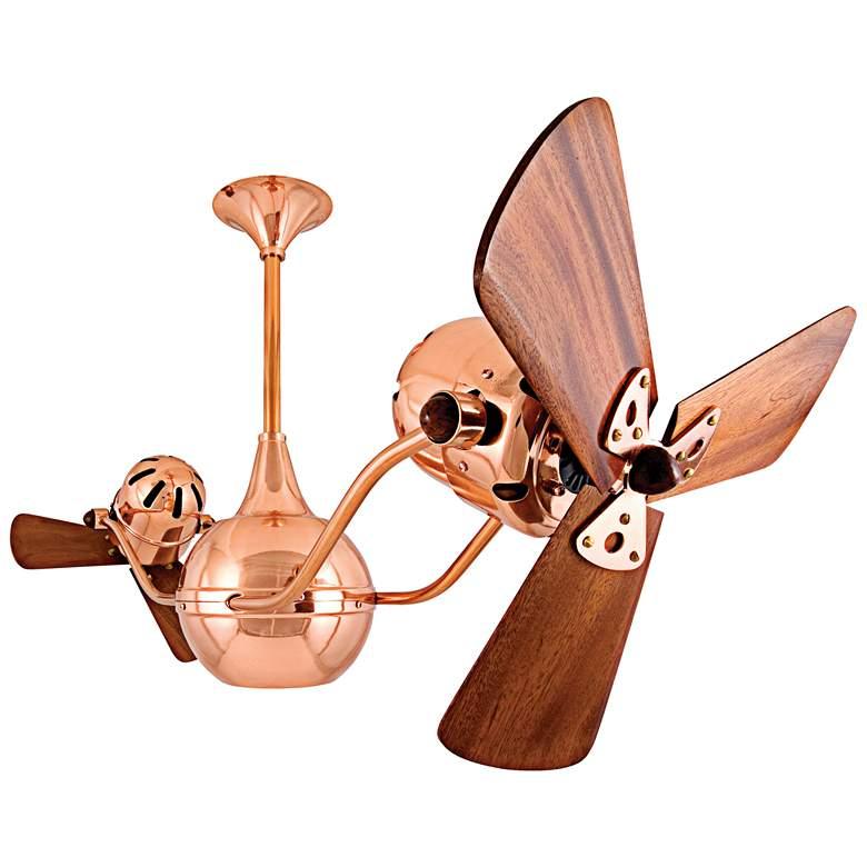 "44"" Matthews Vent Bettina Dual-Head Copper Ceiling Fan"