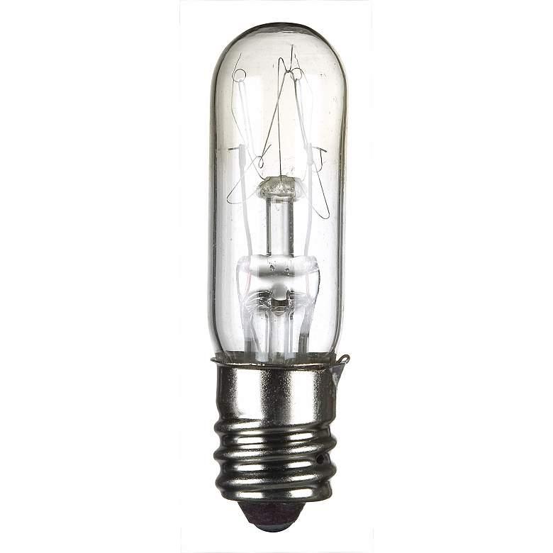 4-Pack 15-Watt Clear Candelabra Tube Light Bulbs