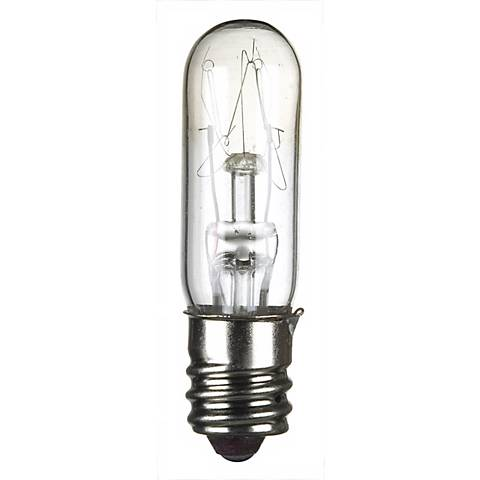4-Pack 15-Watt Clear Candelabra Tube Light Bulbs