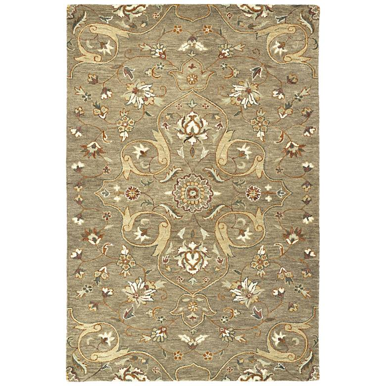 Kaleen Helena 3213-82 Light Brown Wool Area Rug