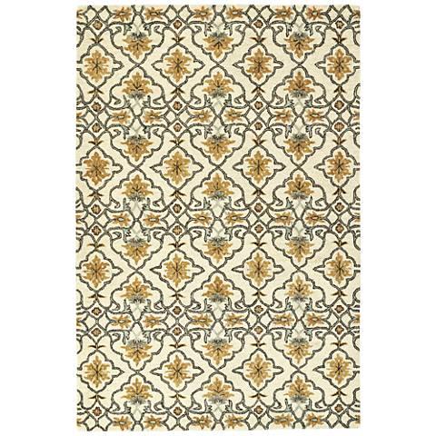 Kaleen Helena 3214-03 Beige Wool Area Rug