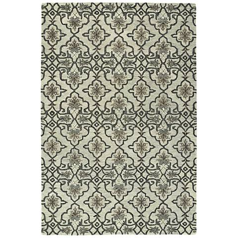Kaleen Helena 3214-88 Mint Wool Area Rug