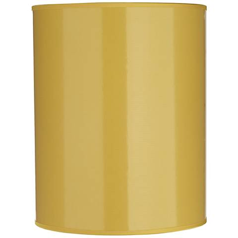 Yellow Paper Cylindrical Lamp Shade 8x8x10 (Spider)