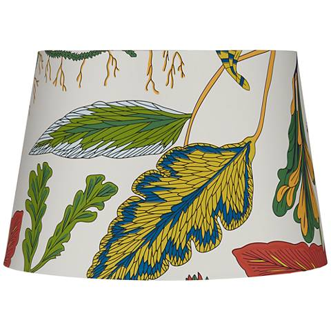 Multi-Color Tropical Print Drum Lamp Shade 12x15x10 (Spider)