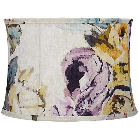 Cool Tone Abstract Colors Lamp Shade 15x16x11 (Spider)