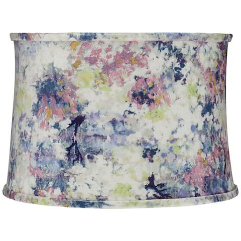 Multi-Color Paint Drum Lamp Shade 15x16x11 (Spider)