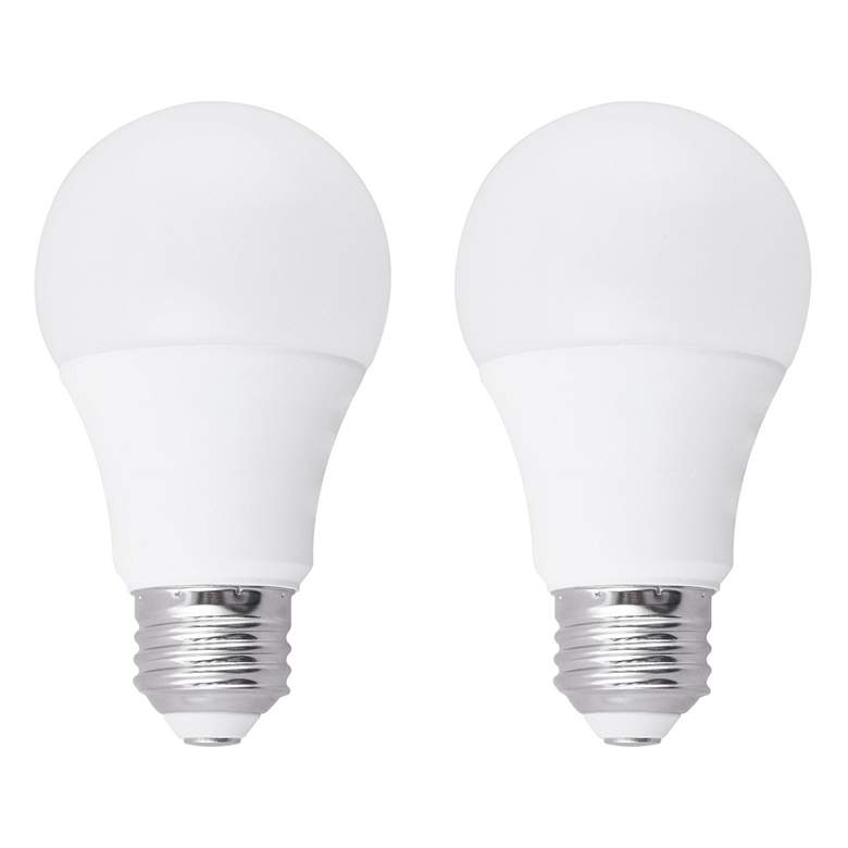60W Equivalent Frosted 10W LED Dimmable Standard A19 2-Pack