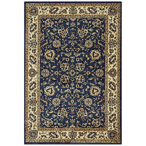 Capel Anatolia-Keshan 3801RS450 Teal Area Rug