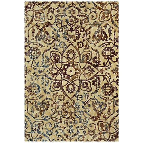 Capel Anatolia-Vintage Star 3804RS500 Ruby Area Rug