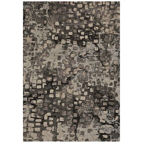 Capel Celestial-Cobblestone 3241RS300 Coal Area Rug