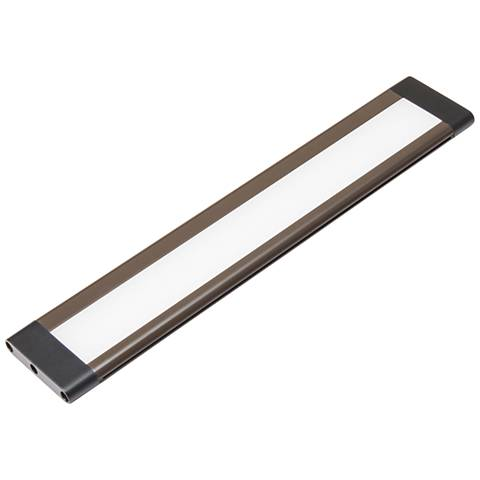 """SlimEdge 8""""W Bronze 2700K LED Under Cabinet Light"""