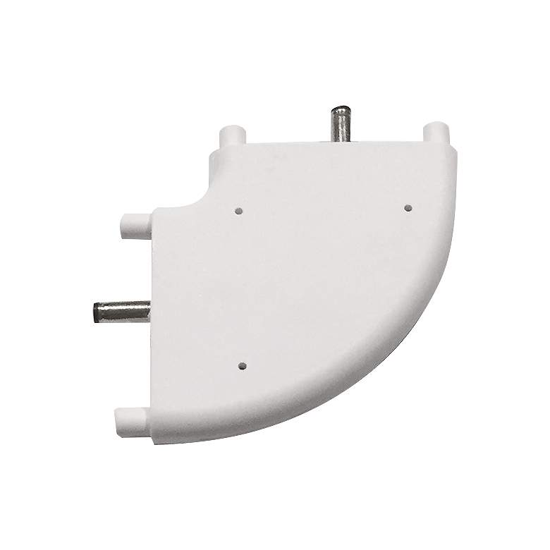 SlimEdge™  White Edge 90-Degree Connector