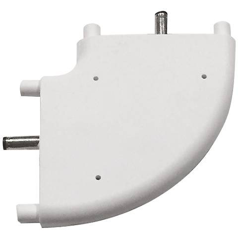 SlimEdge™  White Edge 90-Degree Connector
