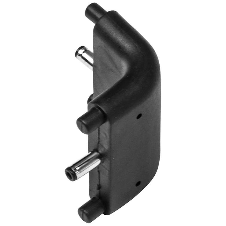 SlimEdge™ Black Edge Bar to Bar Inside Corner Connector