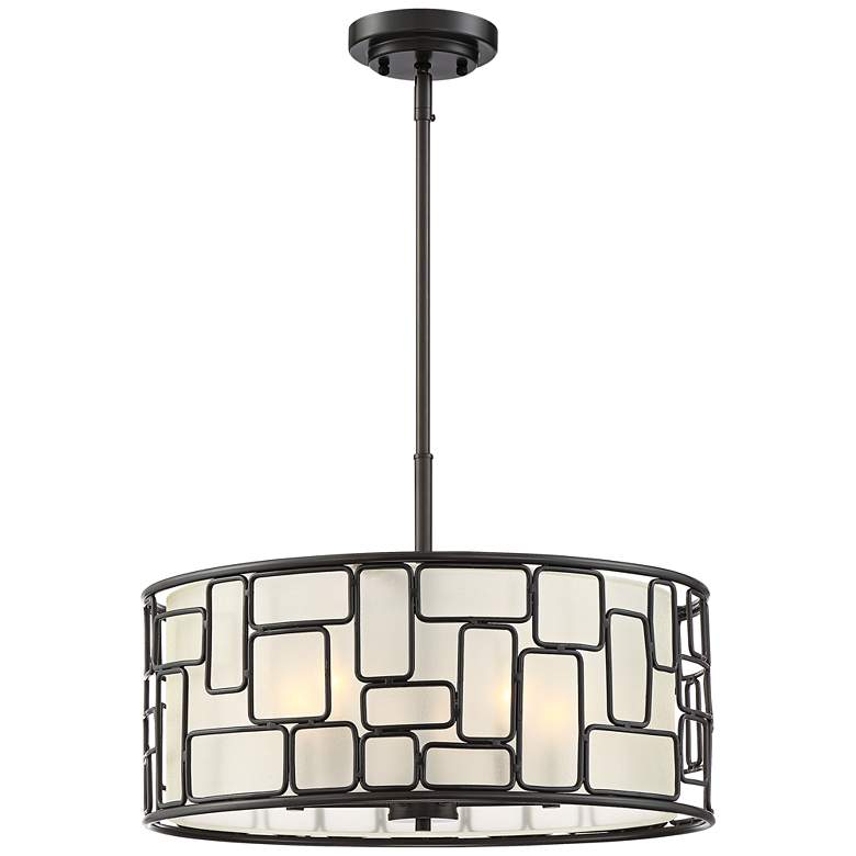 "Baynes 20"" Wide Oil-Rubbed Bronze Pendant Light"