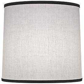 Stiffel Cream Aberdeen Drum Lamp Shade 12x13x12 Spider