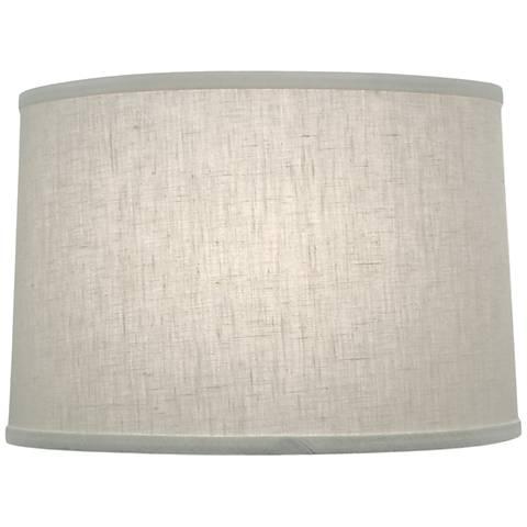 Stiffel Cream Aberdeen Drum Lamp Shade 14x15x9 (Spider)