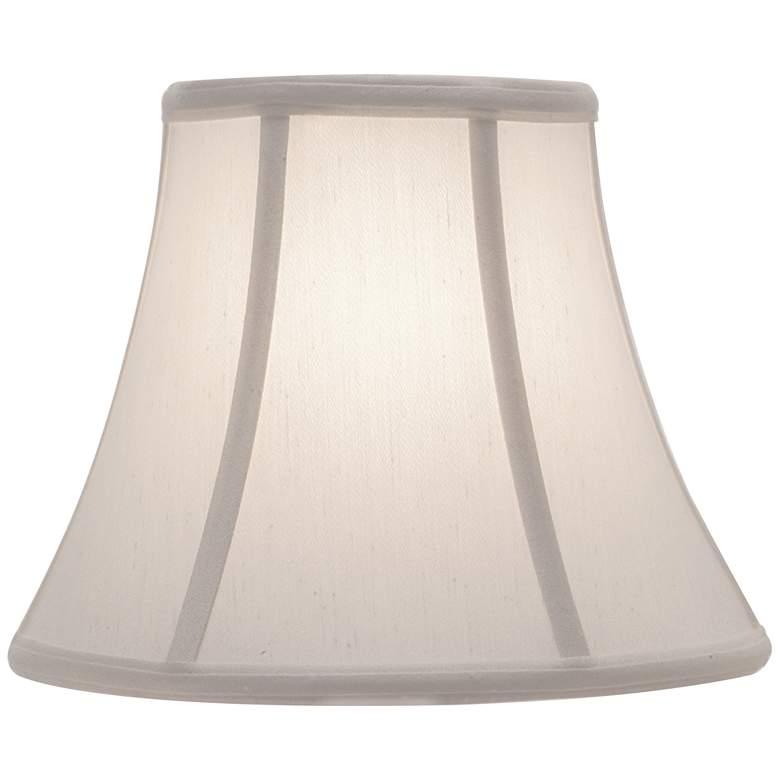 Stiffel Pearl Supreme Satin Bell Lamp Shade 6x11x9 (Spider)