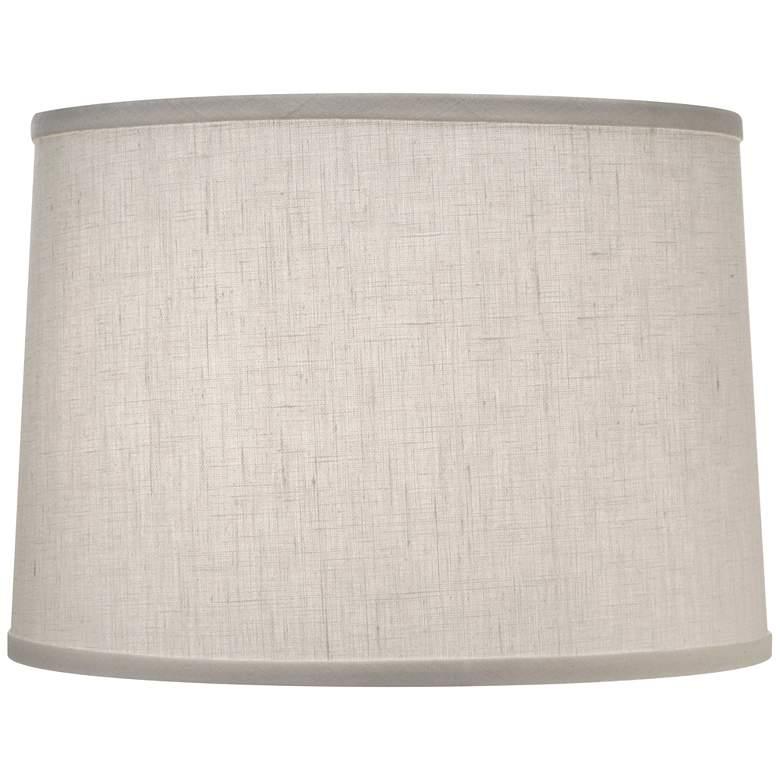 Stiffel Cream Aberdeen Drum Lamp Shade 14x15x11 (Spider)