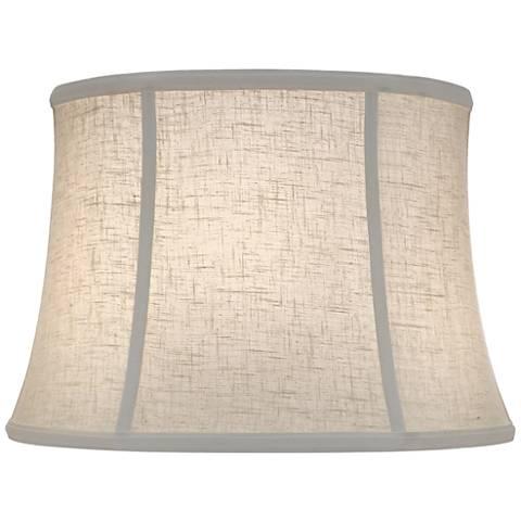 Stiffel Cream Aberdeen Bell Lamp Shade 14x18x13 (Spider)