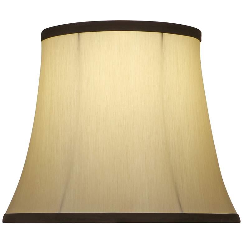 Stiffel Eggshell Silksheen Bell Lamp Shade 8x10x10 (Spider)