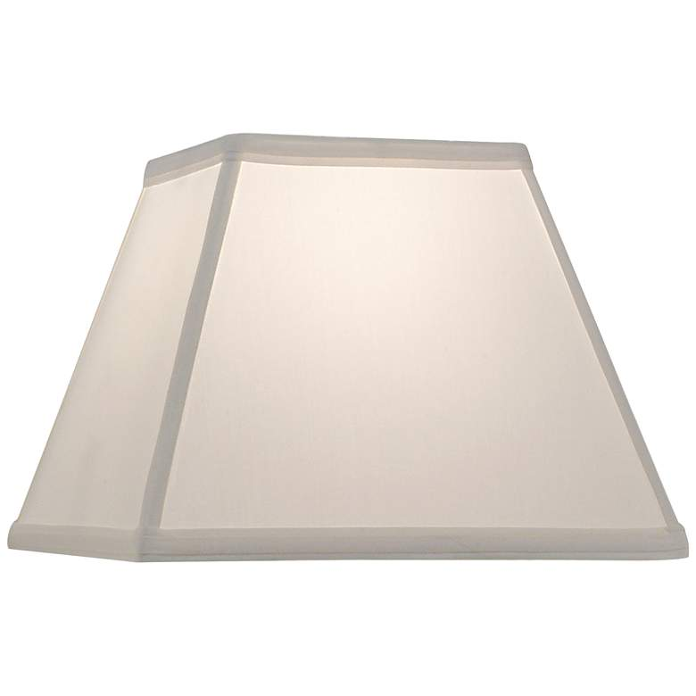 Stiffel Oyster Square Lamp Shade 6/6x11/11x9.75 (Spider)
