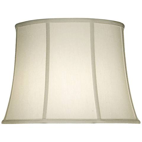 Stiffel Ivory Shadow Bell Lamp Shade 14x18x13 (Spider)