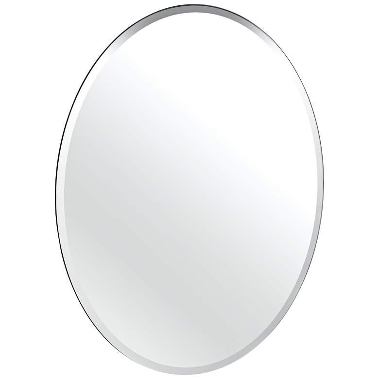 "Gatco Cameo Flush Mount 24"" x 32"" Frameless Wall Mirror"